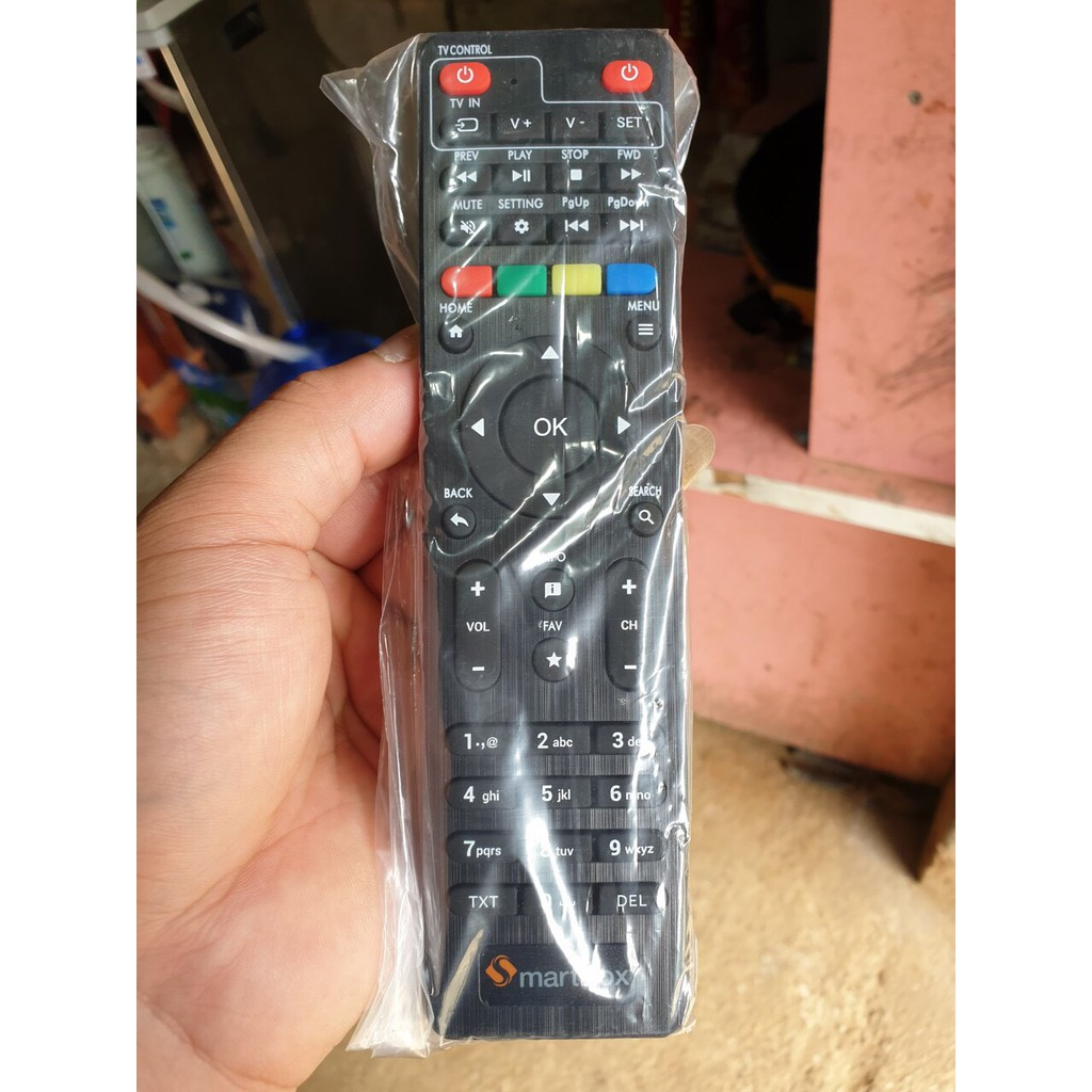 Điều khiển đầu thu Smartbox VNPT - Remote smartbox