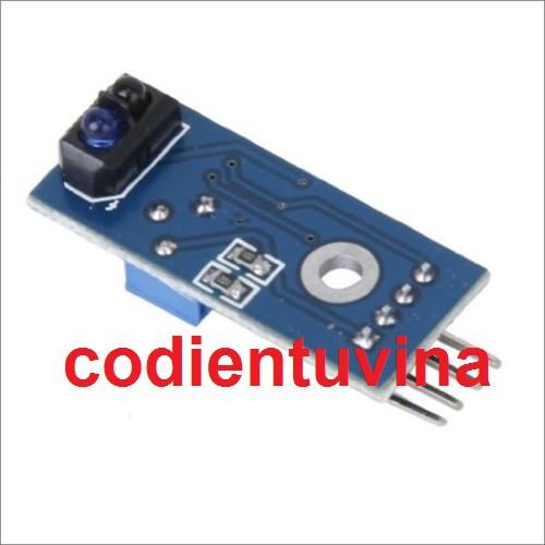 Module Cảm biến dò line đơn hồng ngoại nhận vạch - TCRT5000 - 3524440 , 694794706 , 322_694794706 , 15000 , Module-Cam-bien-do-line-don-hong-ngoai-nhan-vach-TCRT5000-322_694794706 , shopee.vn , Module Cảm biến dò line đơn hồng ngoại nhận vạch - TCRT5000