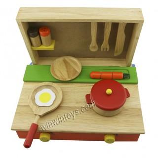 Đồ chơi gỗ Winwintoys - Bộ nấu ăn 65032