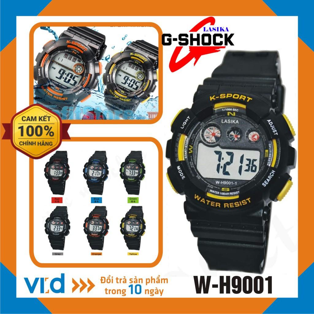 Đồng hồ trẻ em, Đồng hồ điện tử thể thao đeo tay nam Lasika W-H9001 - Bảo hành 12 tháng!!!