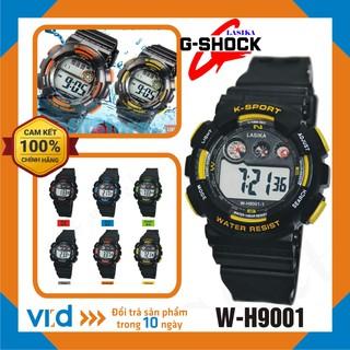 [CHÍNH HÃNG] Đồng hồ trẻ em, Đồng hồ điện tử thể thao đeo tay nam Lasika W-H9001 - Bảo hành 12 tháng!!!