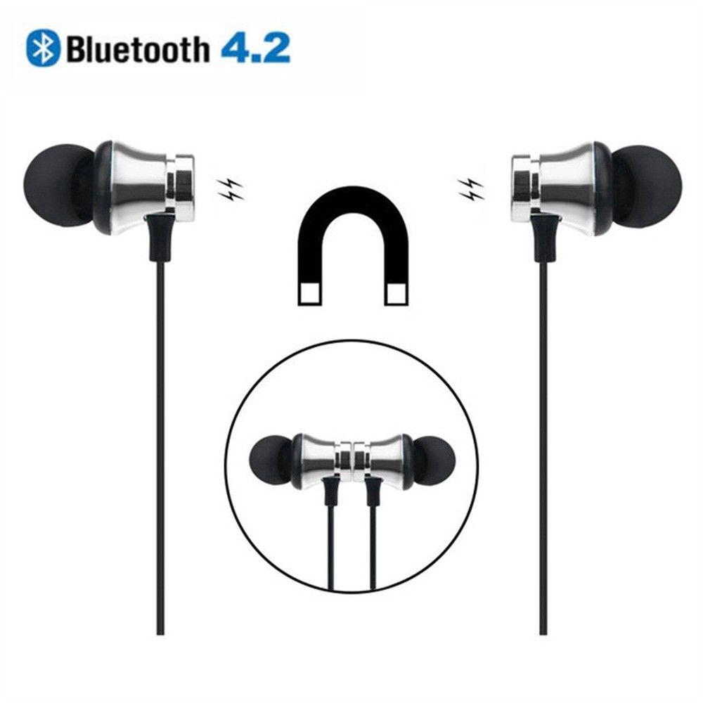 Tai nghe nhét tai kết nối Bluetooth 4.2 có nam châm