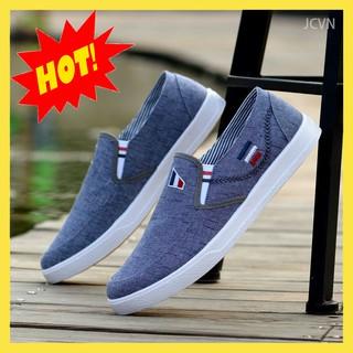 Giày nam - giày lười vải cao cấp thời trang (video) 005 thumbnail