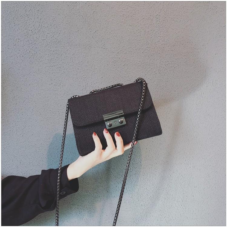 FREESHIP 50K - Túi xách nữ phối màu vintage phong cách Hàn Quốc đeo chéo - DT06