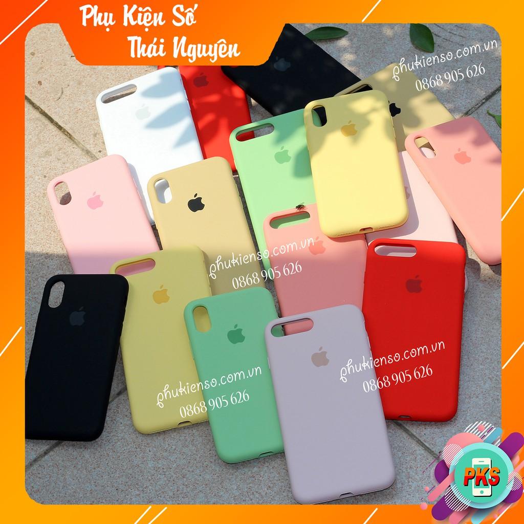 [13 màu] FULL VIỀN - Ốp Chống Bẩn Iphone đủ mã 6 Đến Xs Max