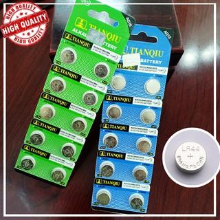 [LOẠI TỐT] Pin đồng hồ cúc áo AG10 LR1130, AG13 LR44 Vỉ 1 viên 1.5V Alkaline Tianqiu chính hãng dùng cho nhiều thiết bị thumbnail