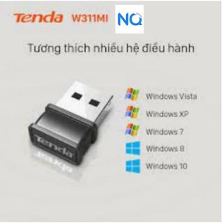 USB thu wifi siêu tốt – Tenda USB kết nối Wifi SW311M tốc độ 150Mbps