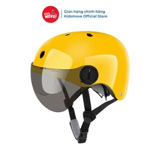 Mũ bảo hiểm trẻ em có kính As-fish siêu nhẹ, thoáng khí, điều chỉnh vòng đầu - hàng cao cấp đạt tiêu chuẩn châu Âu