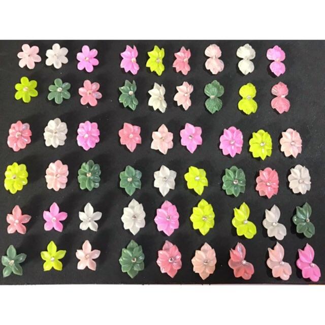 Hoa bột giá rẻ - 2k9/1 bông - Giao Mẫu Ngẫu