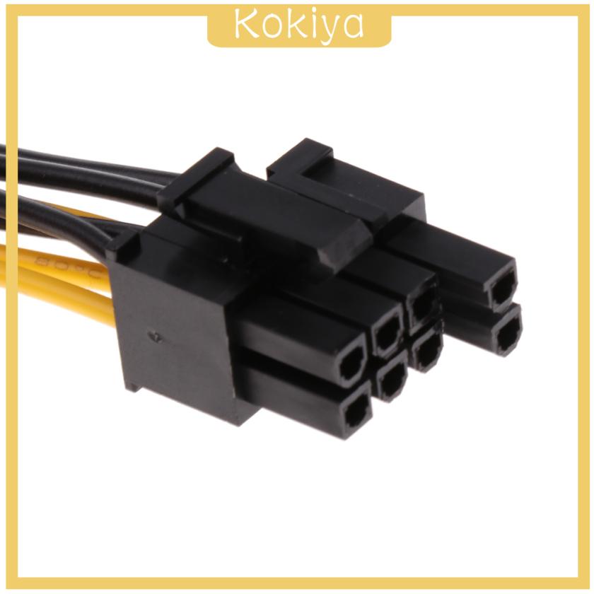 Dây Cáp Chuyển Đổi Pci-E 8-pin Female Sang Dual 8-pin (6 + 2 Pin)
