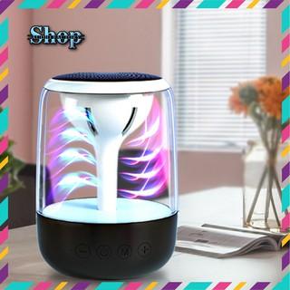 Loa bluetooth 1000mAh C7 Plus Ghép đôi 2 loa Stereo - đèn LED đa sắc- đọc thẻ nhớ TF, kết nối máy tính AUX 3.5mm thumbnail