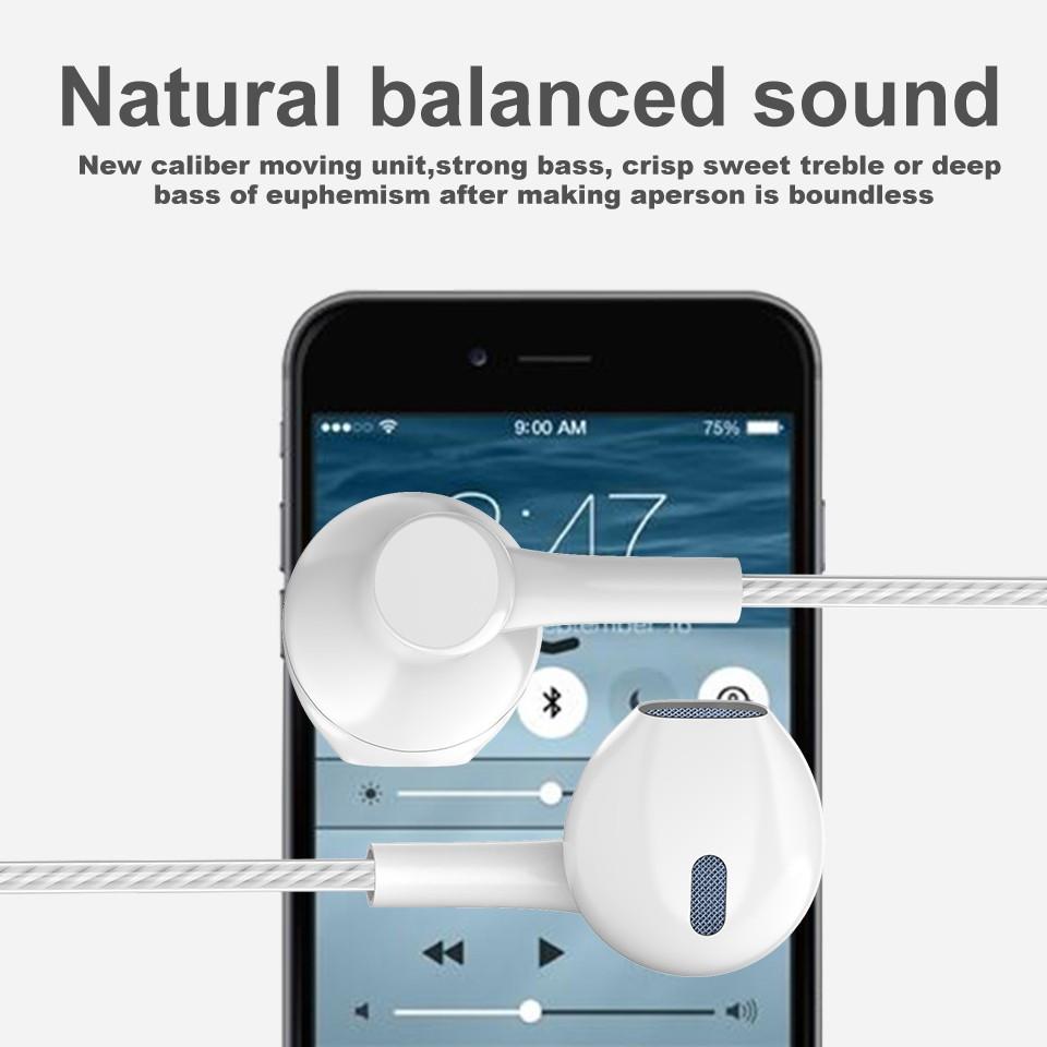Tai nghe KCO loại nhét tai có dây tích hợp micro đem lại hiệu ứng âm thanh tuyệt vời