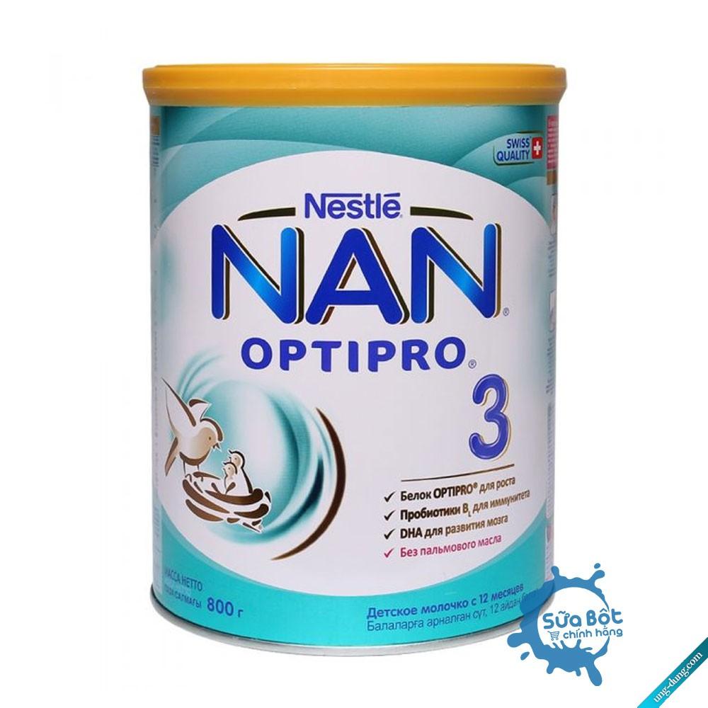 [Date 2022] Sữa Nan Nga số 3 (800g)