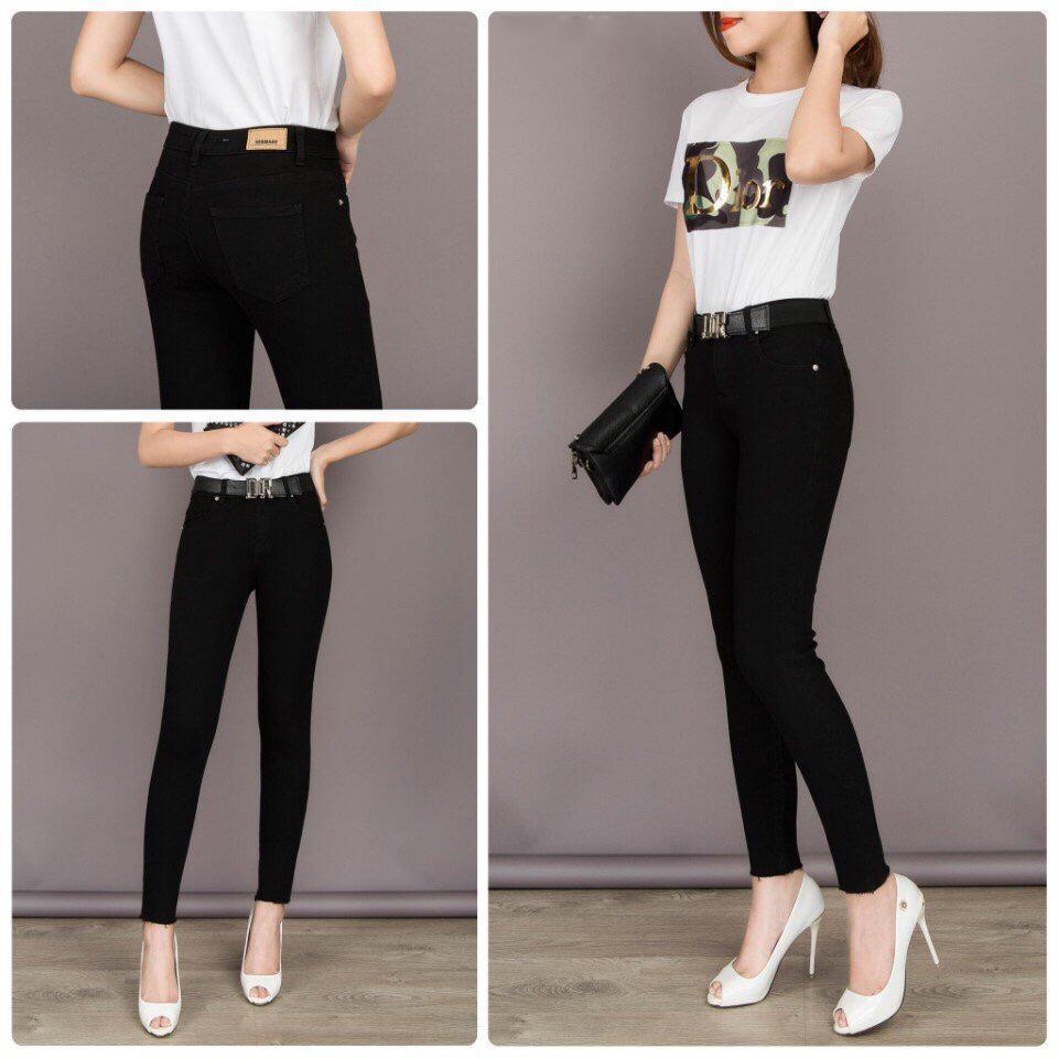 Quần Bò Nữ quần jeans nữ Quần Jean Nữ Cao Cấp Hàn...