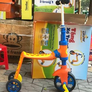 Xe trượt 3 trong 1 cho bé( vừa là xe đạp, xe chòi, xe trượt)