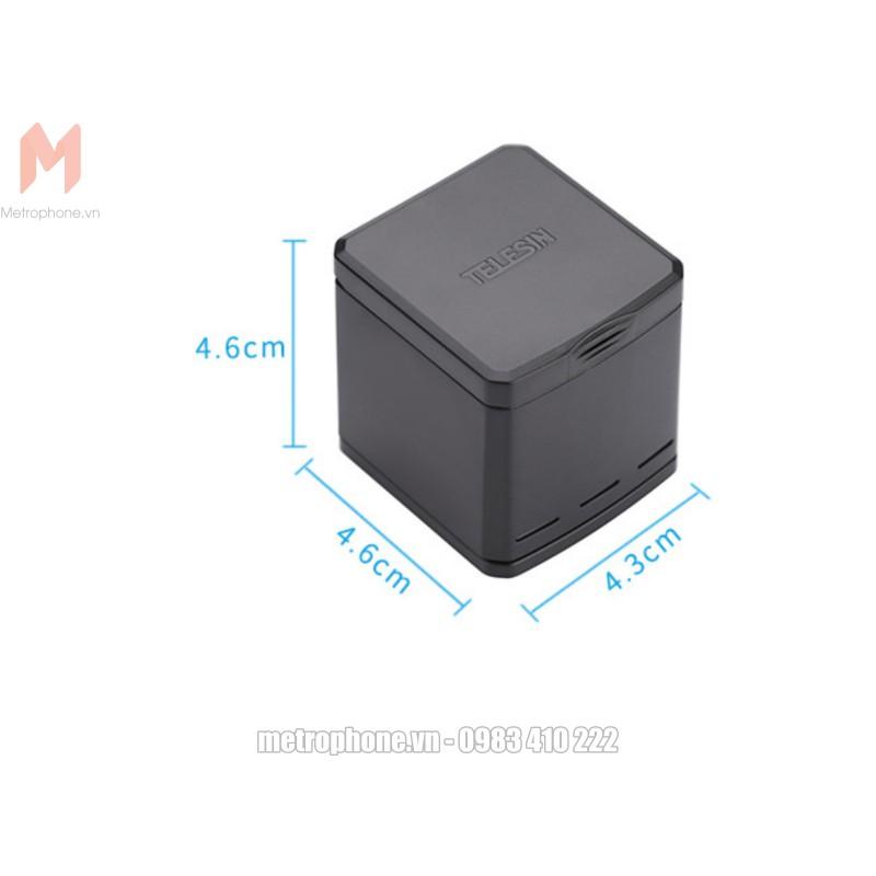 Dock sạc 3 pin Gopro 5 Telesin