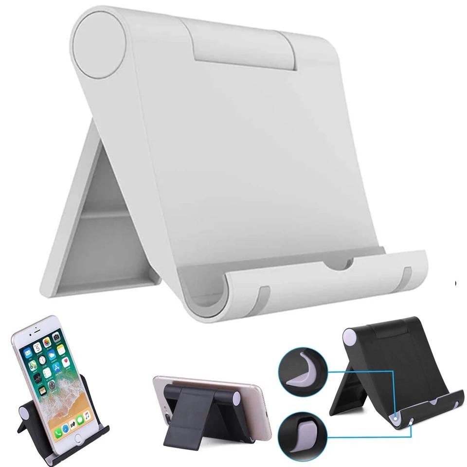 Giá đỡ điện thoại, máy tính bảng đa năng Universal Stents gấp gọn, điều chỉnh góc 180 độ