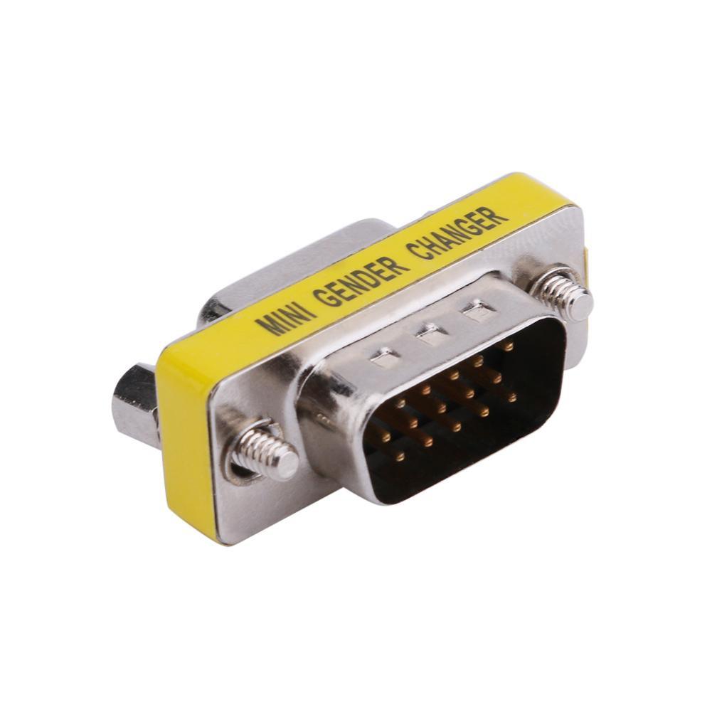 2 Đầu cắm chuyển đổi 15pin VGA tiện dụng chất lượng cao