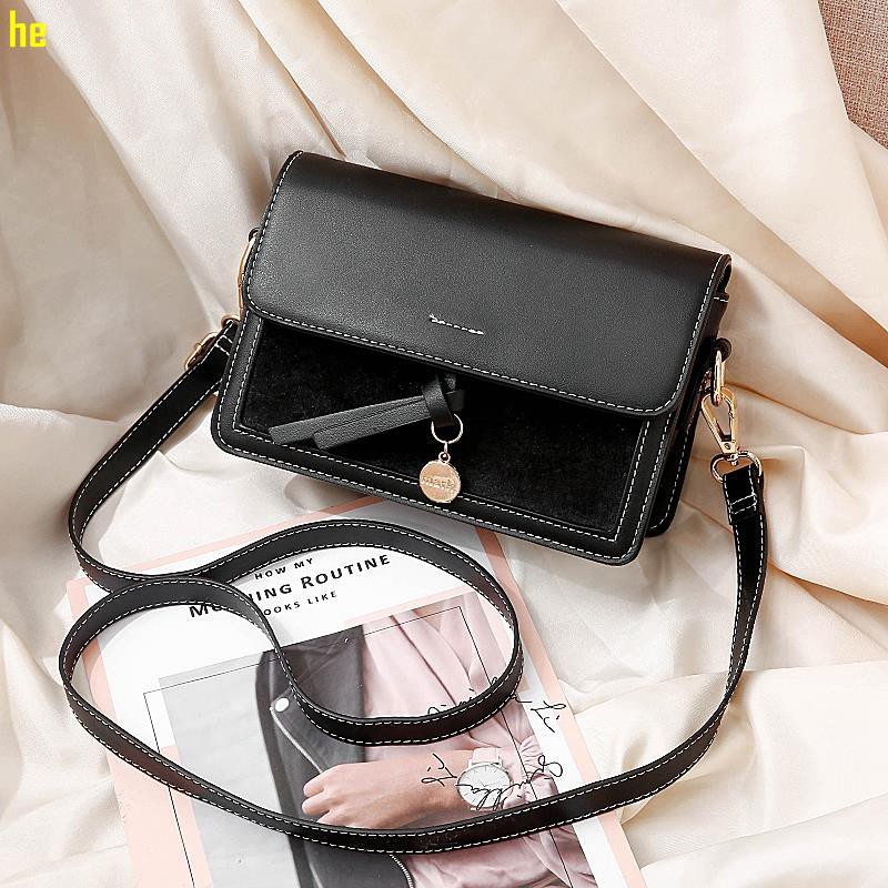 New small bag female bag 2019 new wave Korean version of the wild single shoulde