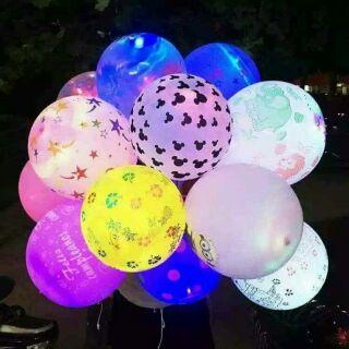 Combo 100 bóng bay phát sáng đèn led sự kiện