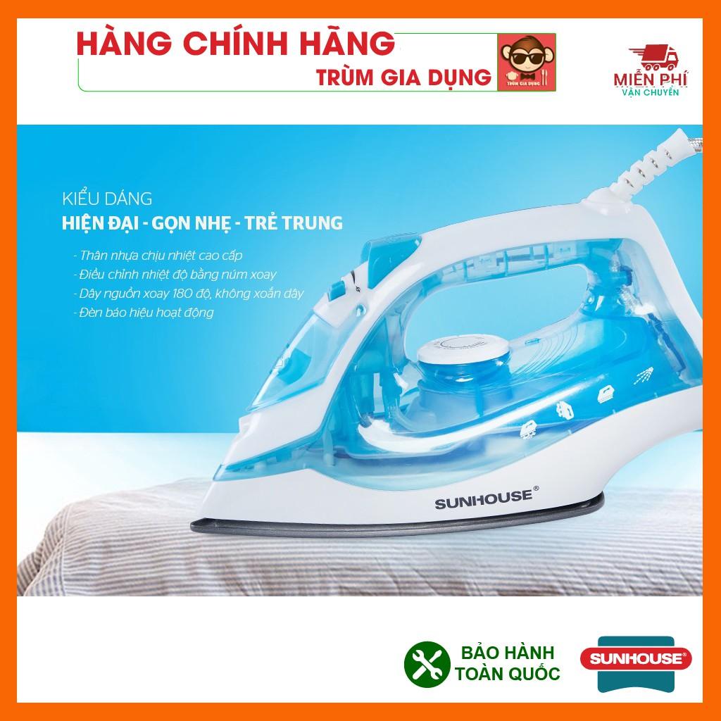 Bàn ủi hơi nước, Bàn là hơi nước Sunhouse SHD2065, công suất 160W siêu đẹp,  tiện dụng. - Bàn ủi, bàn là Nhãn hàng SUNHOUSE