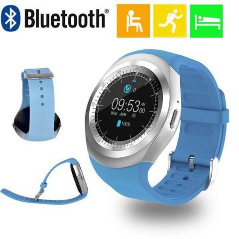 Đồng hồ thông minh mặt tròn Smartwatch Y11 - phong cách trẻ ( 4 màu)