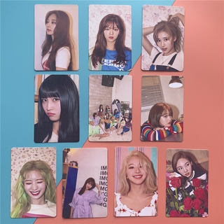 Bộ Hình Thẻ Lomo Nhóm Nhạc Twice Polaroid
