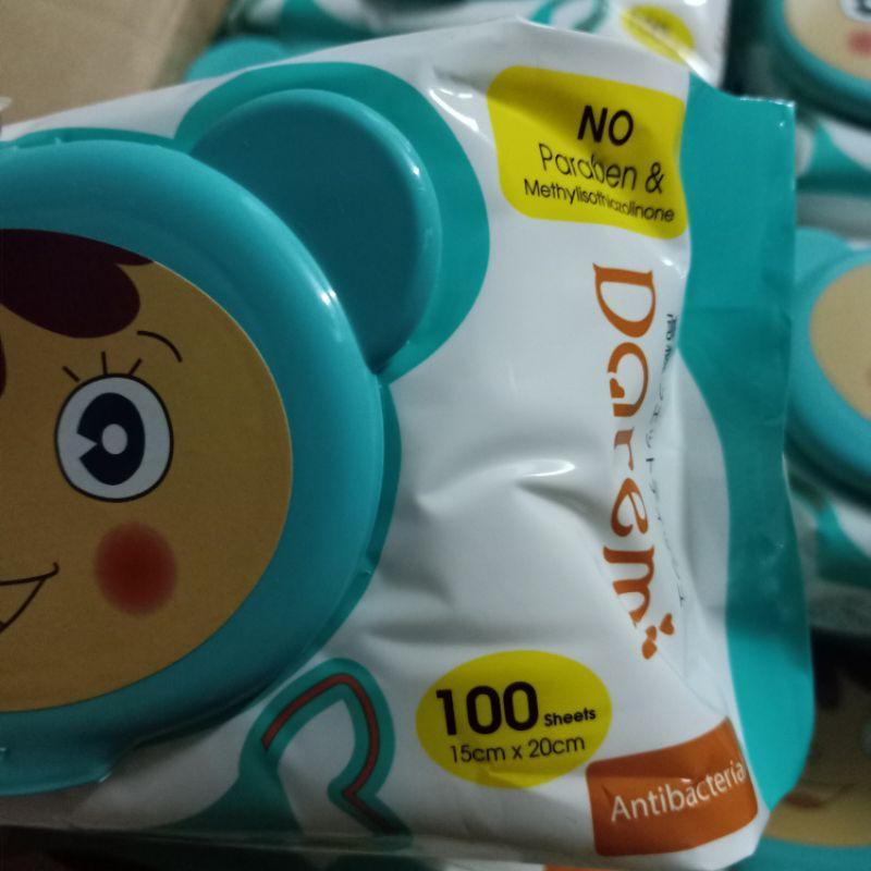 Khăn ướt cao cấp 100 tờ không chất tạo mùi an toàn cho bé
