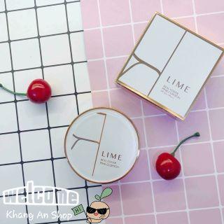 Phấn nước kiềm dầu, che phủ tốt Lime Real Cover Pink Cushion SPF50+ PA+++ (vỏ trắng) thumbnail
