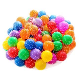 Túi 100 bóng nhựa đồ chơi cho bé(CCS)