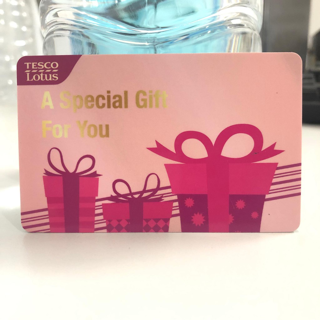 Lotus Gift Card 100 บาท