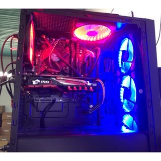[ Tặng kèm combo Fantech] Máy Bộ PC Main GB B365M + I3 9100F + MSI GTX 1050TI + Ram Corsair 16Gb