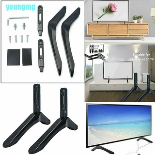 【you】Universal 32-65″ TV Mount Bracket FLAT TV LCD Screen Table Stand For LG Vizio TV