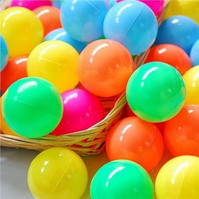 200 quả bóng nhựa đủ màu cho bé.