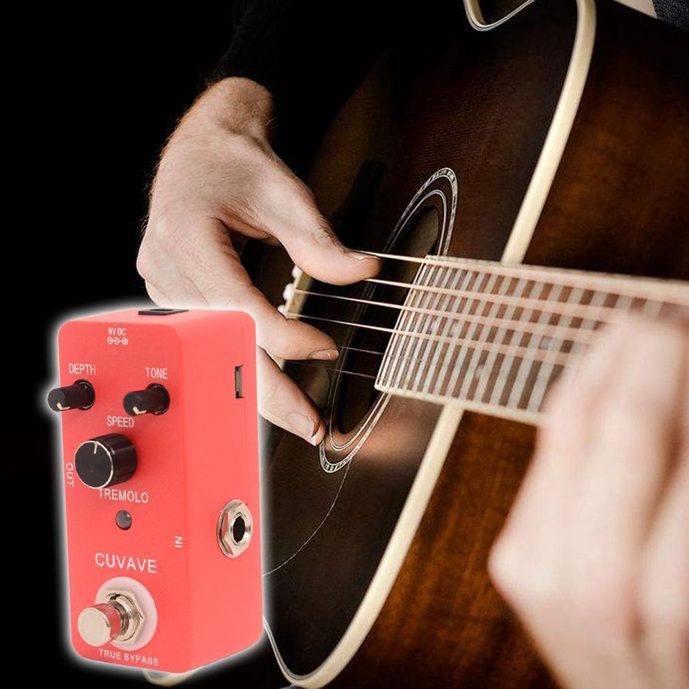 TREMOLO Vibrato Monoblock With True Bypass Guitar Effect Pedal