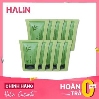 sữa rửa mặ simpel FREESHIP Sample sữa rửa mặt Innisfree Green Tea Cleansing Foam HALIN6523 thumbnail