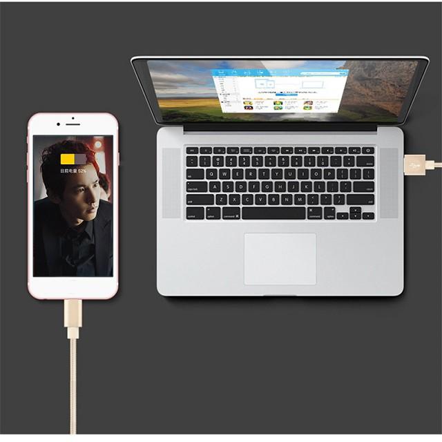 Cáp sạc iphone samsung TYPE-C  siêu nhanh