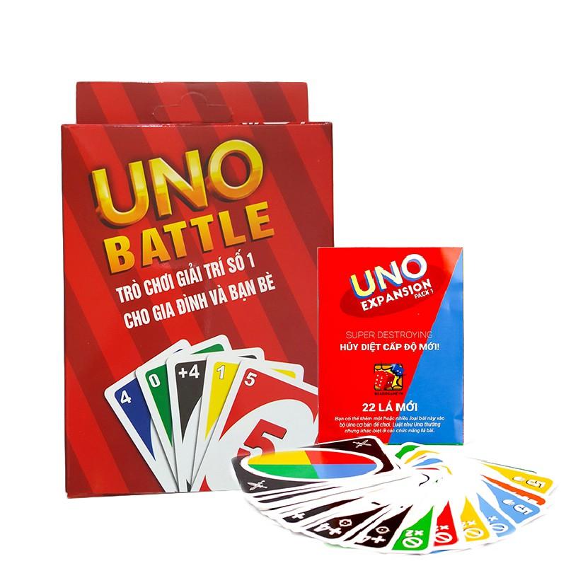 Combo Bài Uno đại chiến & Uno mở rộng Expansion