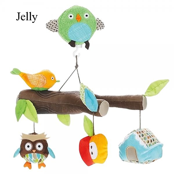 Mechanical Musical Box Baby Music Crib Mobile Bed Hanging Rattle Toy J69