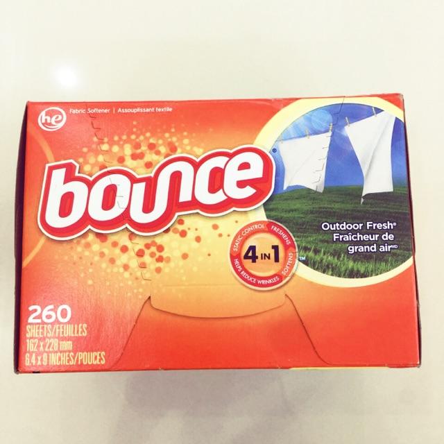 🌸Giấy thơm Bounce 4 in 1 260 tờ