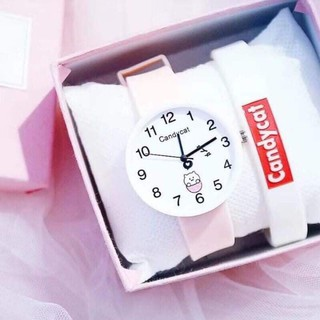 đồng hồ bé gái Candycat
