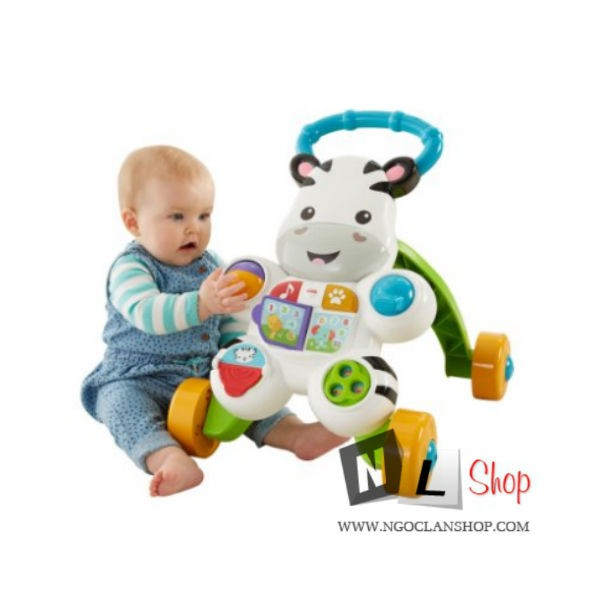 Xe tập đi Fisher Price Learn with Me Zebra Walker