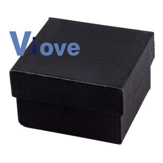 Hộp quà đựng trang sức màu đen
