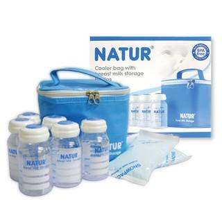 Bộ 6 bình trữ sữa Natur 120ml