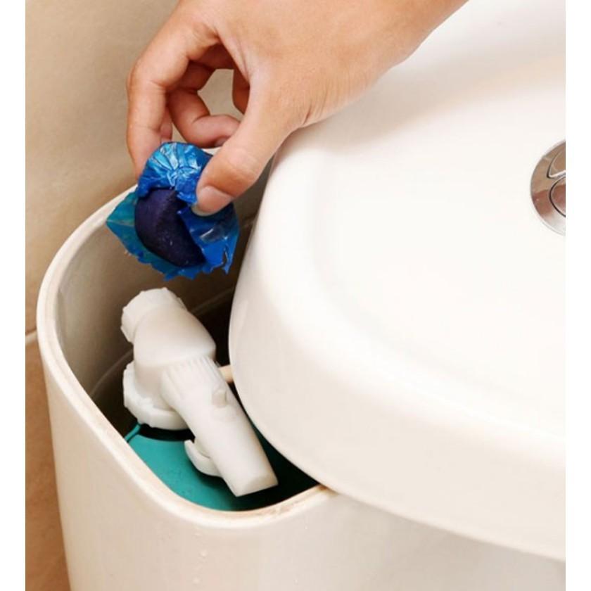 [GIẢM GIÁ] viên khử mùi nhà vệ sinh -Combo 40 viên tẩy bồn cầu= 4 TÚI | Hàng Bán Chạy