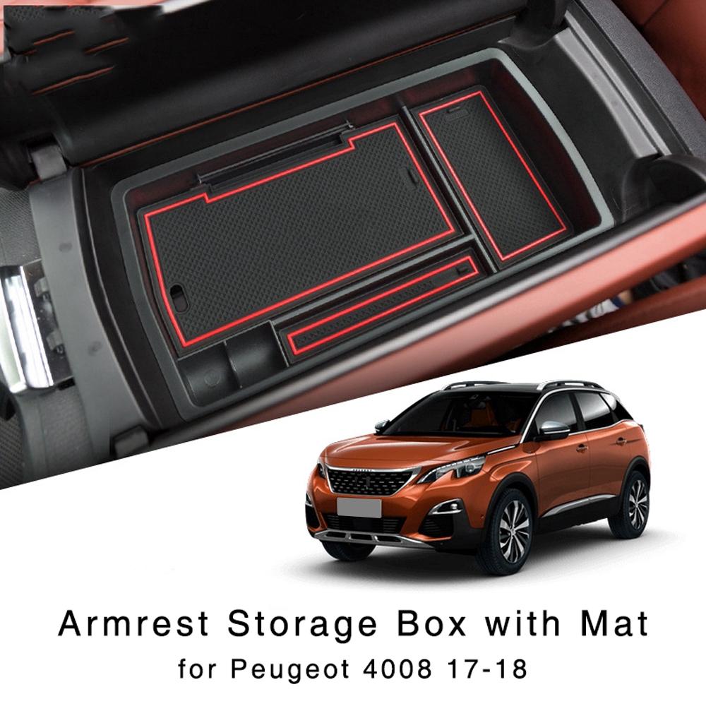 Hộp đựng đồ Armrest dành cho xe 2017 2018 Peugeot 4008
