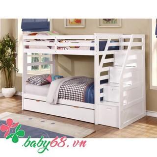 Giường tầng trẻ em Bella BB165 nhiều màu