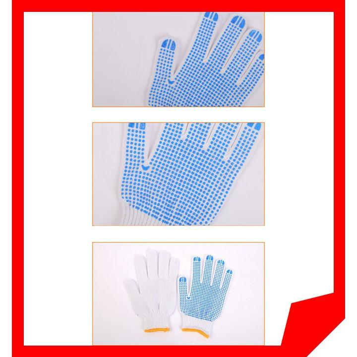 Găng tay gai tăng độ bám giúp cầm nắm chắc sử dụng trong công việc hàng ngày
