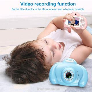 Video Portable Toy Cute Digital 2inch Screen 1080P HD Rechargeable Kids Camera