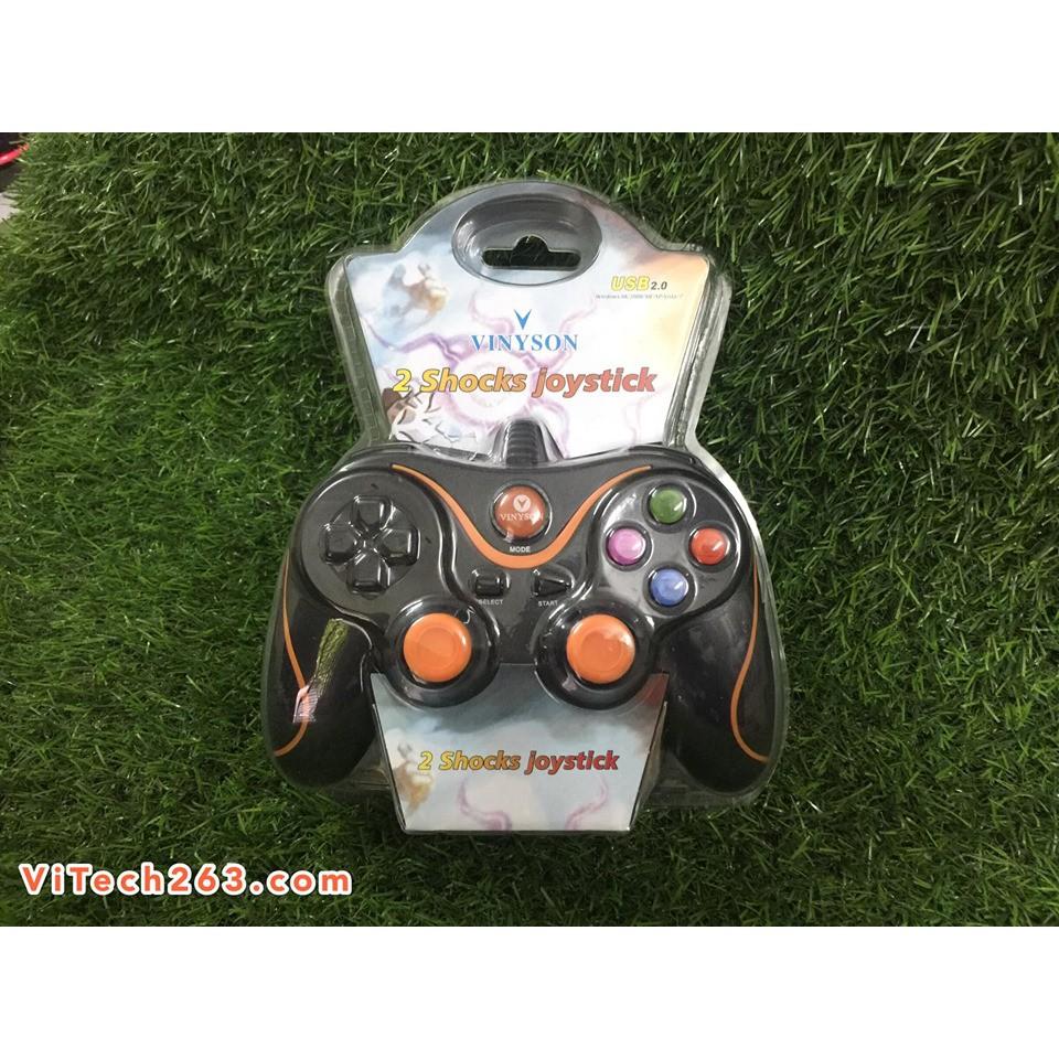 Tay game đơn VINYSON U928 - Cảm Biến Rung - 14196700 , 2523052776 , 322_2523052776 , 139000 , Tay-game-don-VINYSON-U928-Cam-Bien-Rung-322_2523052776 , shopee.vn , Tay game đơn VINYSON U928 - Cảm Biến Rung